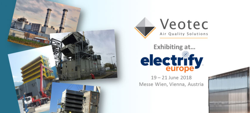Veotec at Electrify Europe 2018