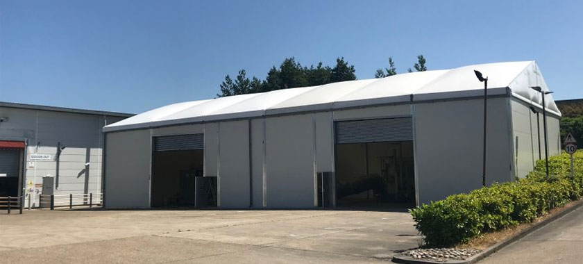 New Temporary Building